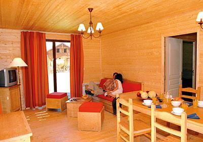 Location au ski Residence Les Chalets D'evian - Thollon les Memises - Salle à manger
