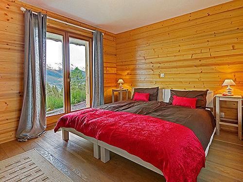 Location au ski Chalet 6 pièces 10 personnes - Chalet Bryher - Thyon - Chambre