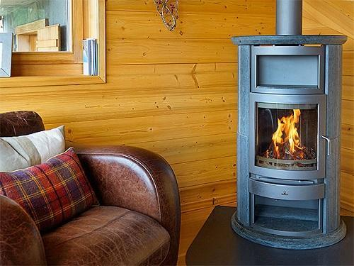 Location au ski Chalet 6 pièces 10 personnes - Chalet Bryher - Thyon - Cheminée