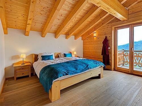 Location au ski Chalet Perle Des Collons - Thyon - Lit double