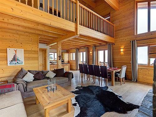 Location au ski Chalet Perle Des Collons - Thyon - Séjour