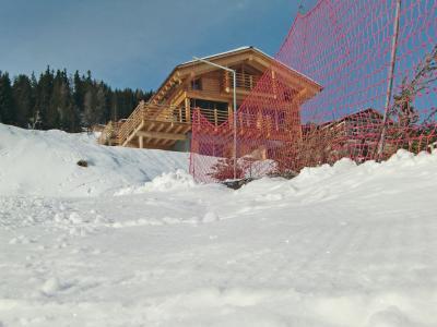 Location au ski Chalet 6 pièces 10 personnes - Chalet Sur Piste - Thyon - Extérieur hiver