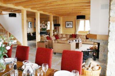 Location au ski Chalet 7 pièces 10 personnes - Chalet Teychenne - Thyon - Séjour