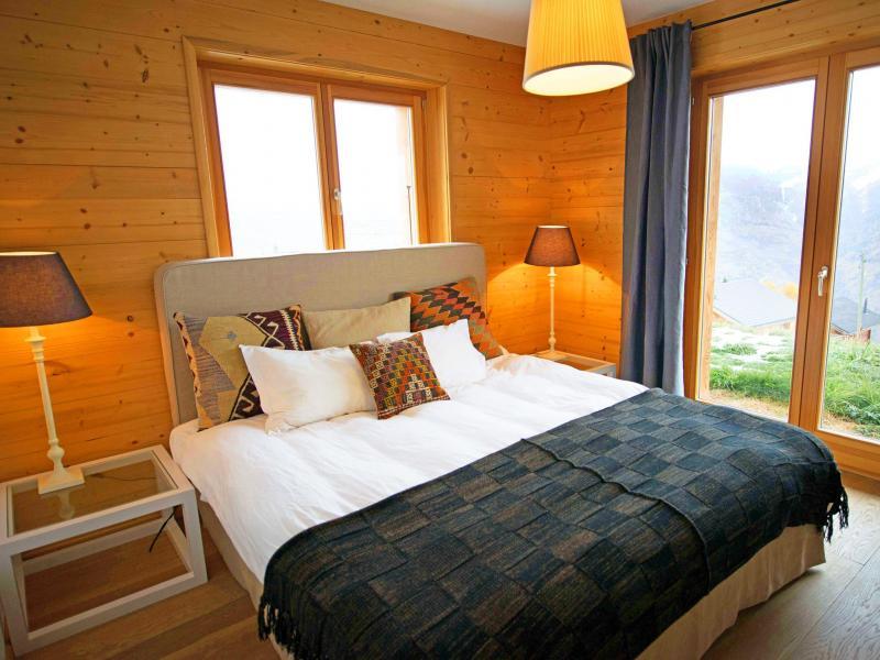 Rent in ski resort Chalet Aurore - Thyon - Bedroom