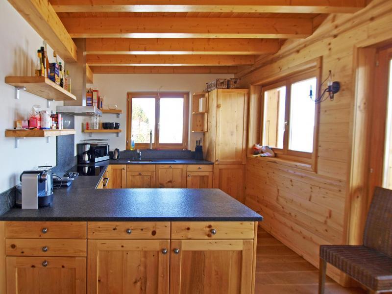 Rent in ski resort Chalet Aurore - Thyon - Kitchen