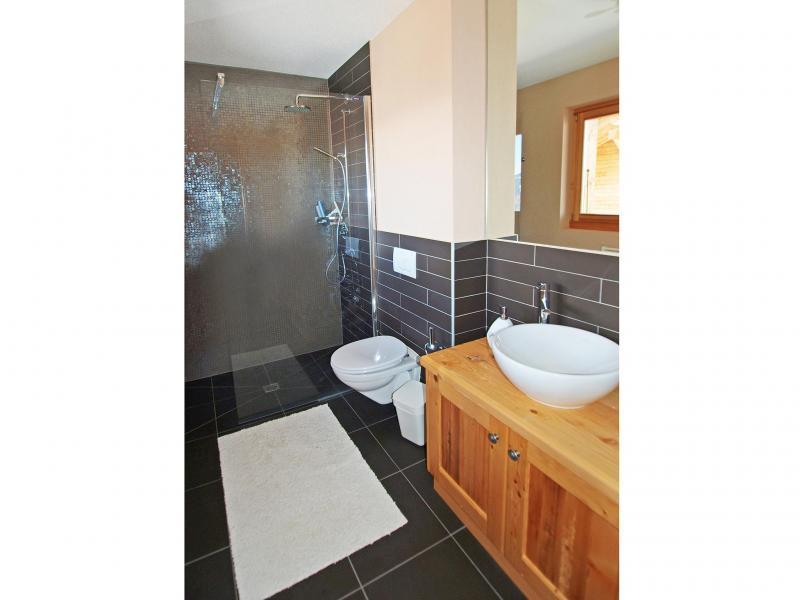 Rent in ski resort Chalet Aurore - Thyon - Shower room