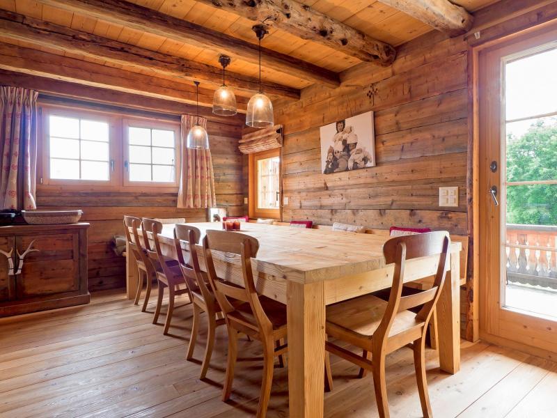 Location au ski Chalet Barbara - Thyon - Salle à manger