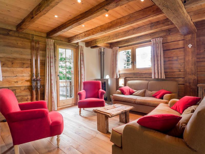 Location au ski Chalet Barbara - Thyon - Séjour