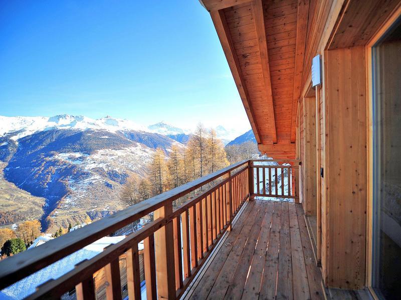 Soggiorno sugli sci Chalet Brock - Thyon - Balcone