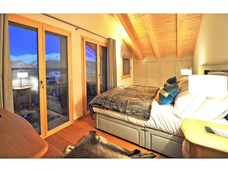 Location au ski Chalet Brock - Thyon - Chambre