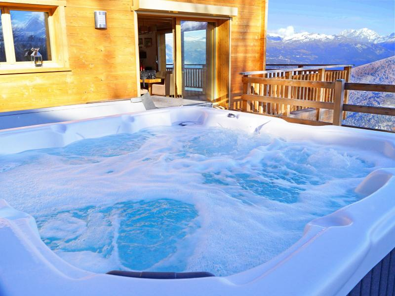 Rent in ski resort Chalet Brock - Thyon - Jacuzzi