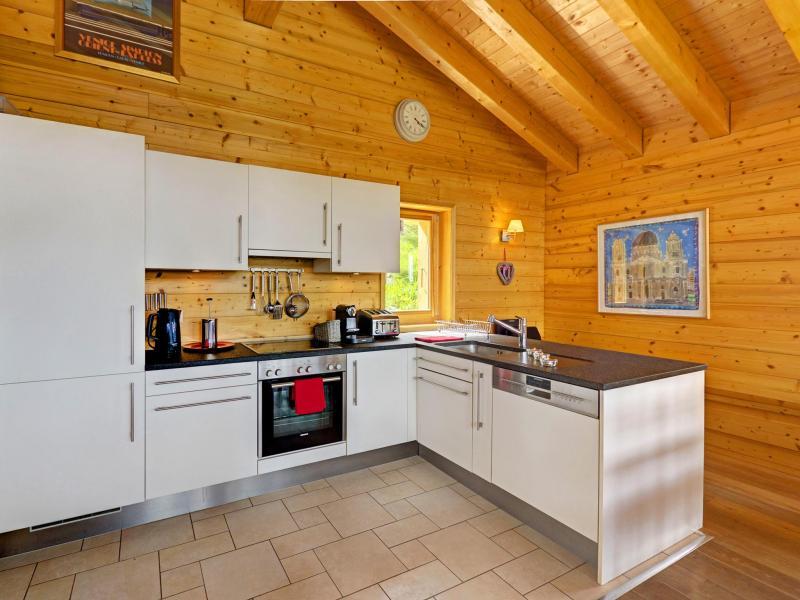 Rent in ski resort Chalet Bryher - Thyon - Kitchen