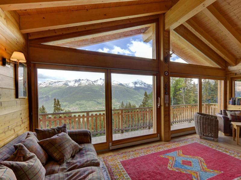 Rent in ski resort Chalet Bryher - Thyon - Settee