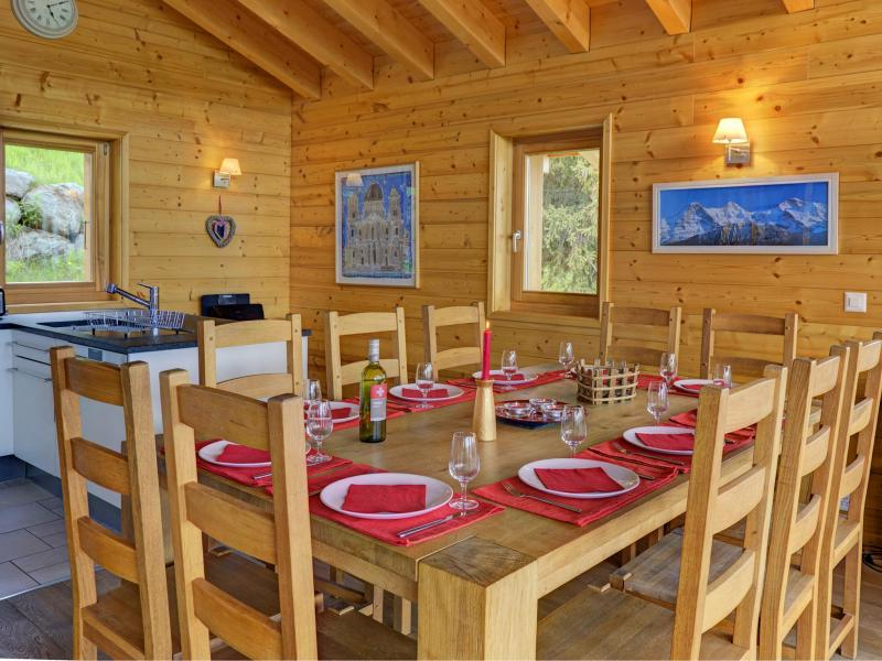 Location au ski Chalet Bryher - Thyon - Table