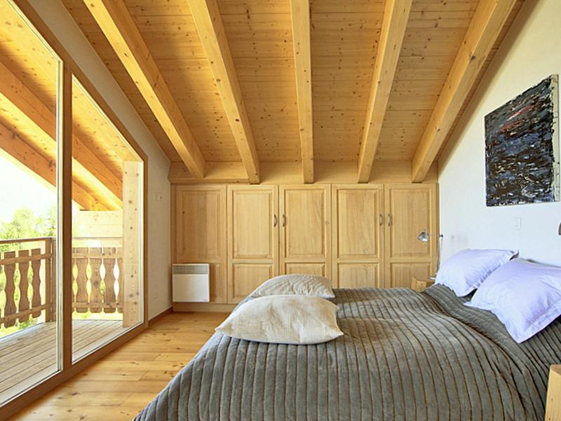 Location au ski Chalet Céline - Thyon - Chambre mansardée