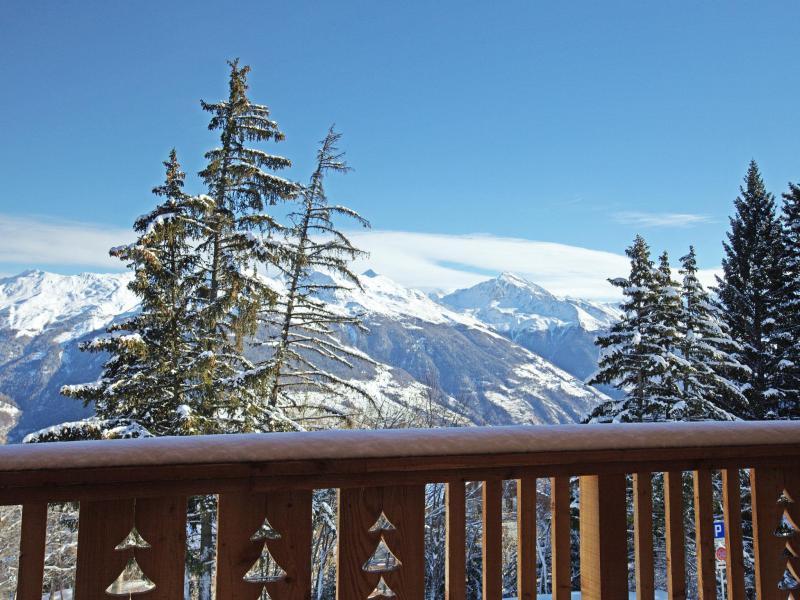 Location au ski Chalet Collons 1850 - Thyon - Extérieur hiver