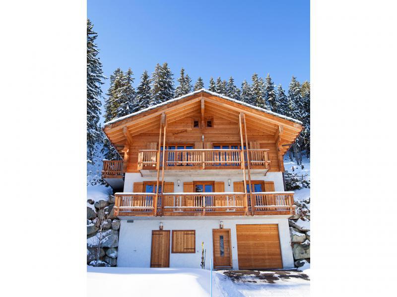 Vacances en montagne Chalet Collons 1850 - Thyon - Extérieur hiver