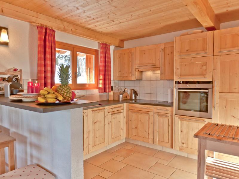 Location au ski Chalet Collons 1850 - Thyon - Cuisine