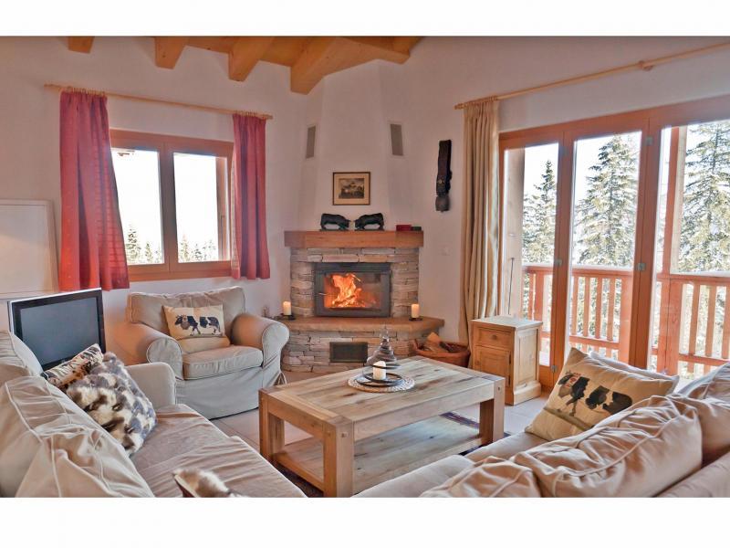 Location au ski Chalet Collons 1850 - Thyon - Séjour