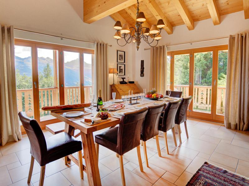 Location au ski Chalet Collons 1850 - Thyon - Table