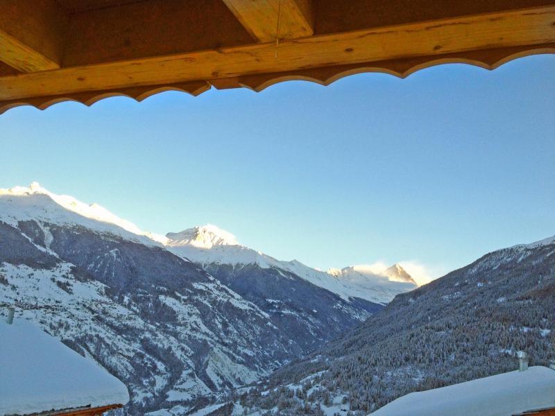 Location au ski Chalet Croix Blanche - Thyon - Extérieur hiver