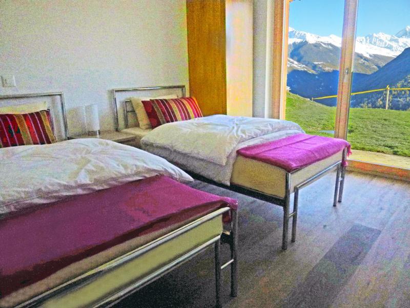 Location au ski Chalet Croix Blanche - Thyon - Chambre