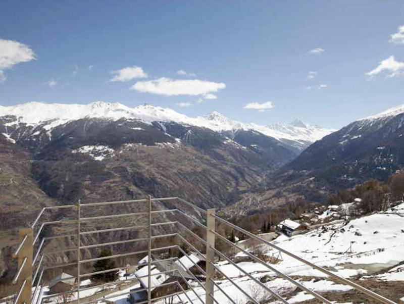 Vacances en montagne Chalet Dargan - Thyon - Extérieur hiver