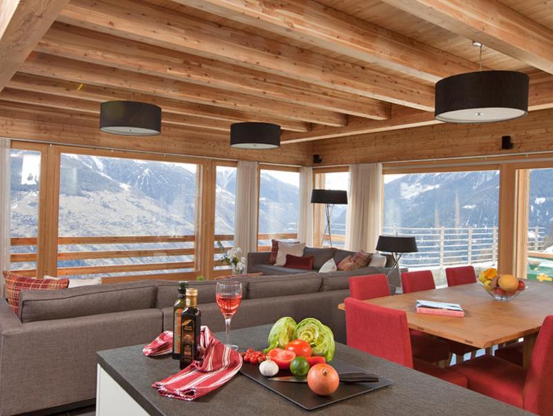 Аренда на лыжном курорте Chalet Dargan - Thyon - Столова&