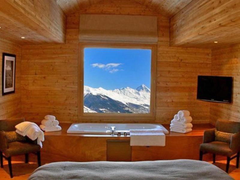 Location au ski Chalet Dargan - Thyon - Salle de bains