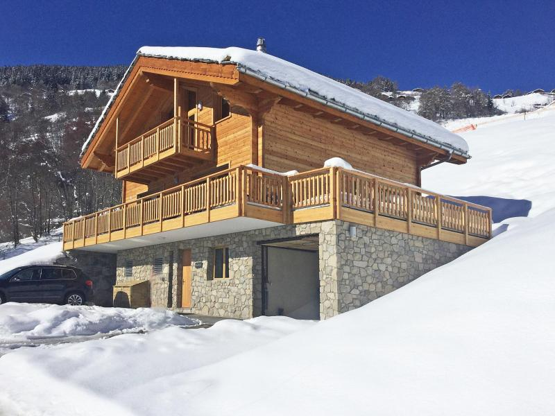 Holiday in mountain resort Chalet des Etoiles - Thyon - Winter outside