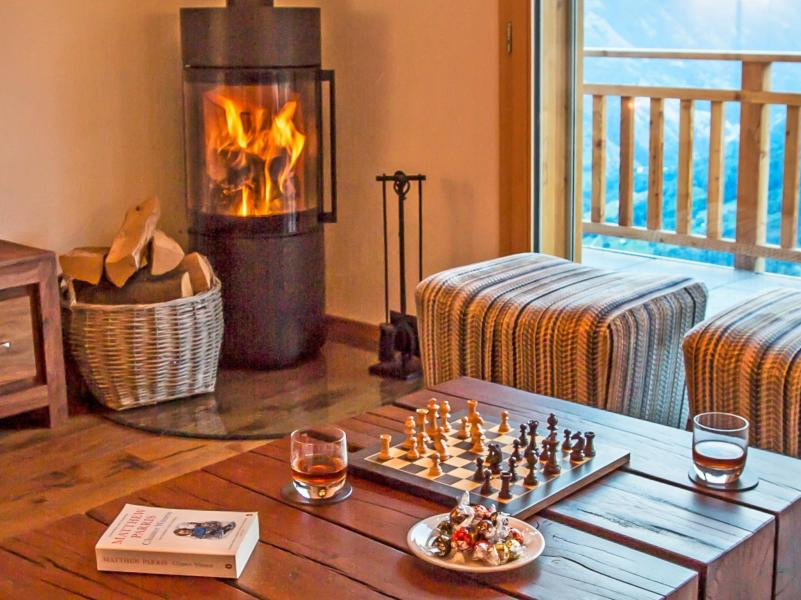 Аренда на лыжном курорте Chalet des Etoiles - Thyon - Салон