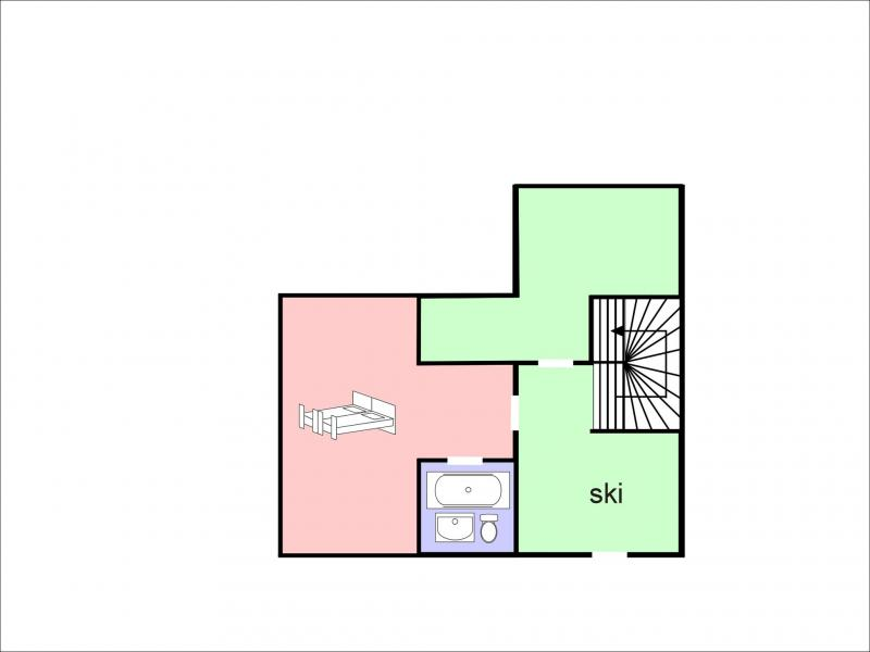 Location au ski Chalet Falcons Nest - Thyon - Plan