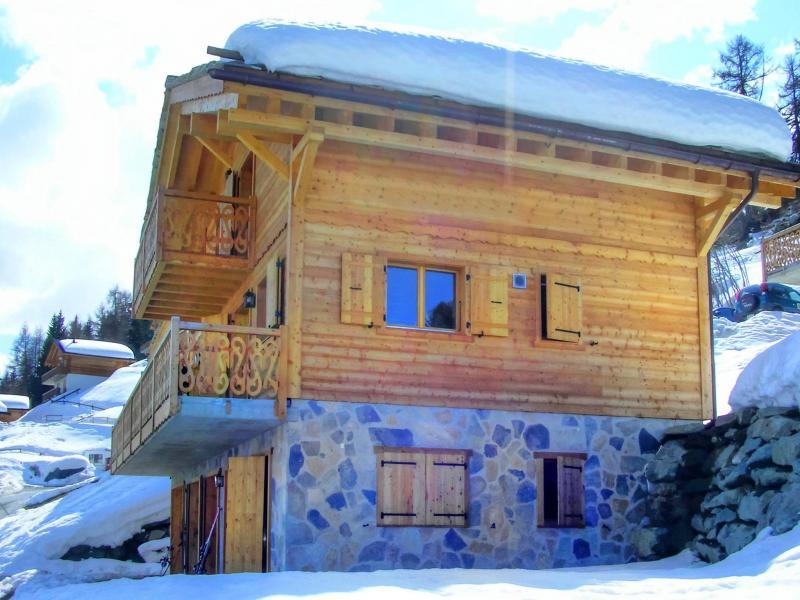 Location au ski Chalet Fleur Des Collons - Thyon - Extérieur hiver