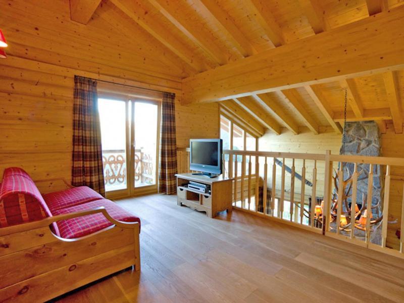 Location au ski Chalet Fleur Des Collons - Thyon - Mezzanine