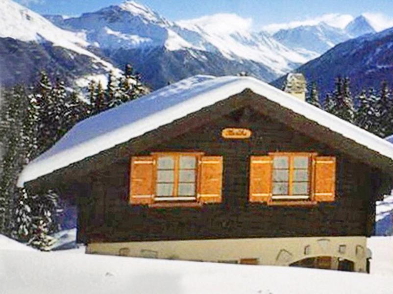 Skiverleih Chalet Karibu - Thyon - Draußen im Winter