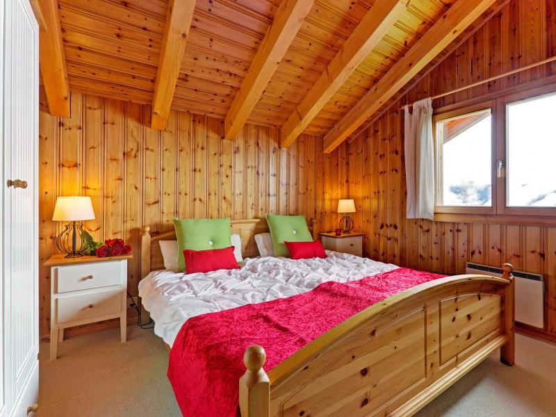 Location au ski Chalet Krokus - Thyon - Chambre mansardée