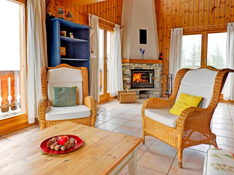 Аренда на лыжном курорте Chalet Krokus - Thyon - Салон