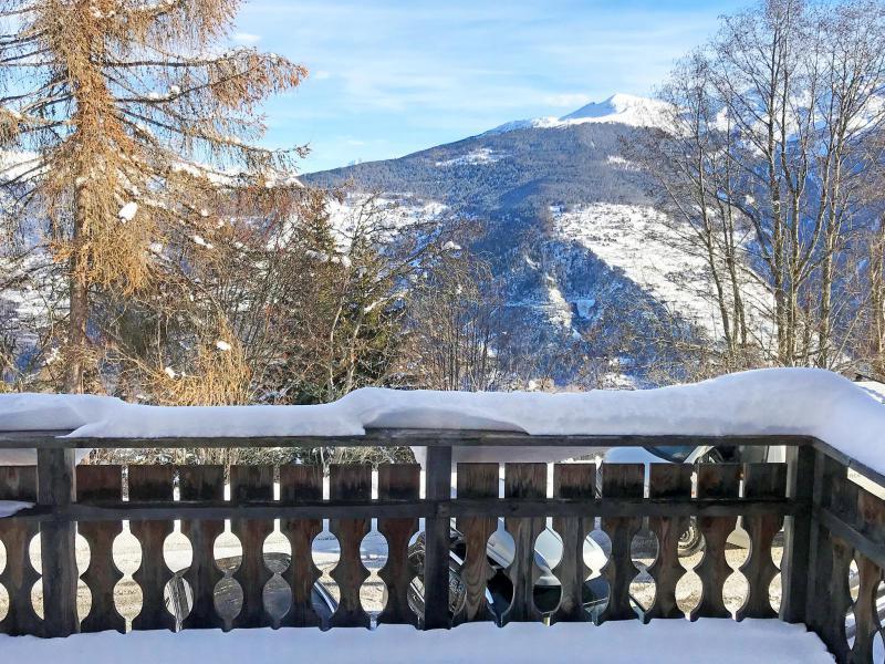 Location au ski Chalet Marguerite - Thyon - Balcon