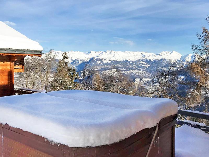 Location au ski Chalet Marguerite - Thyon - Jacuzzi