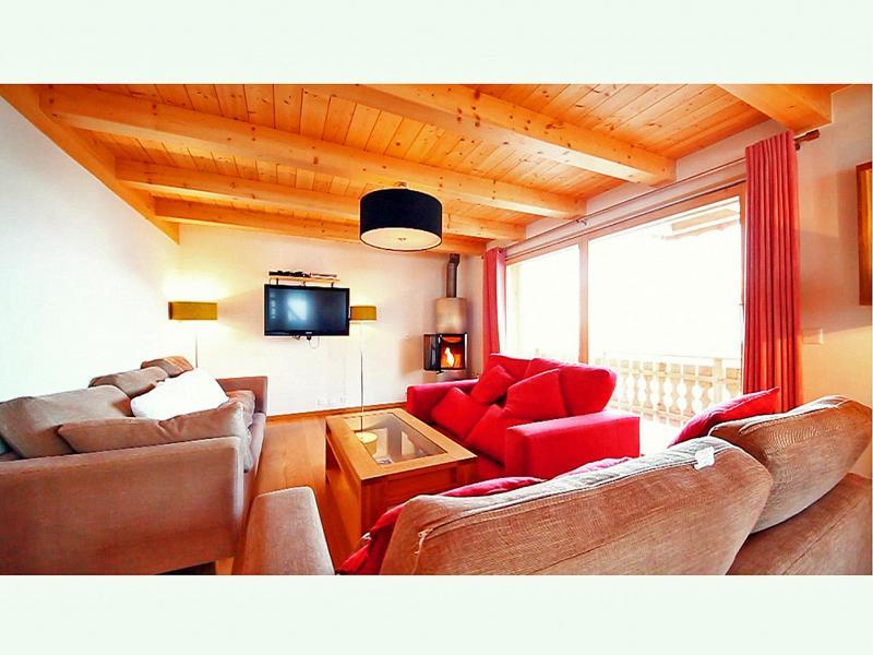 Location au ski Chalet Marguerite - Thyon - Séjour
