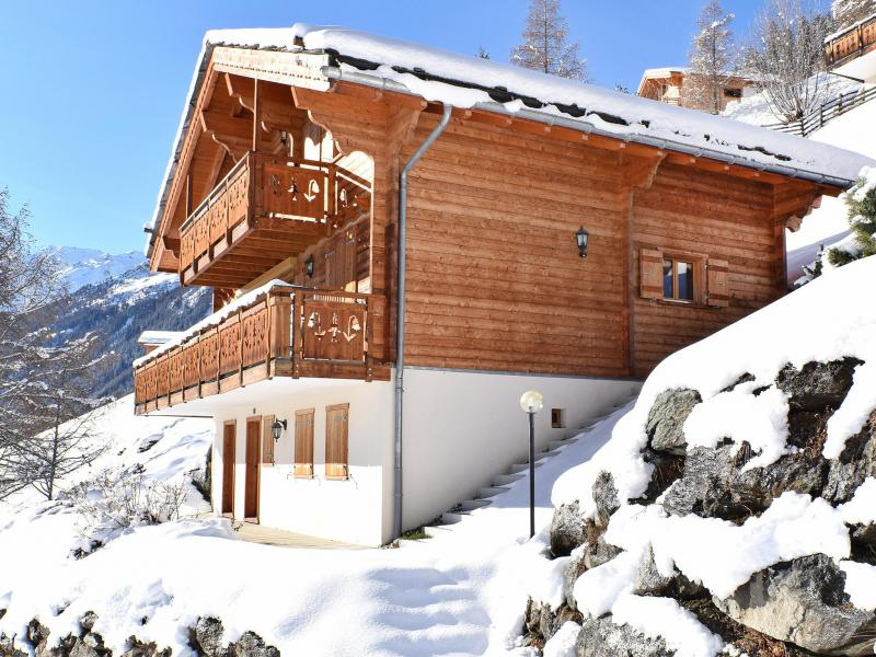 Rent in ski resort Chalet Mountain Star - Thyon - Winter outside