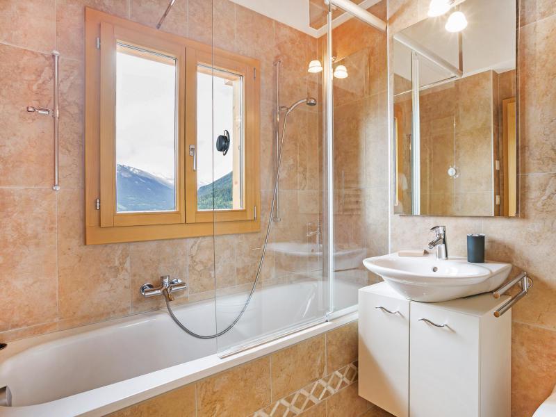Rent in ski resort Chalet Mountain Star - Thyon - Bathroom