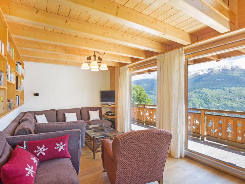 Rent in ski resort Chalet Mountain Star - Thyon - Bench seat