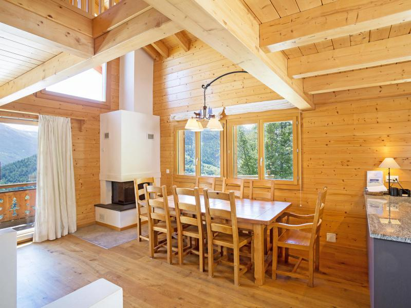Rent in ski resort Chalet Mountain Star - Thyon - Dining area