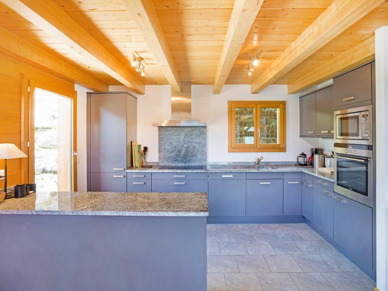 Rent in ski resort Chalet Mountain Star - Thyon - Kitchen