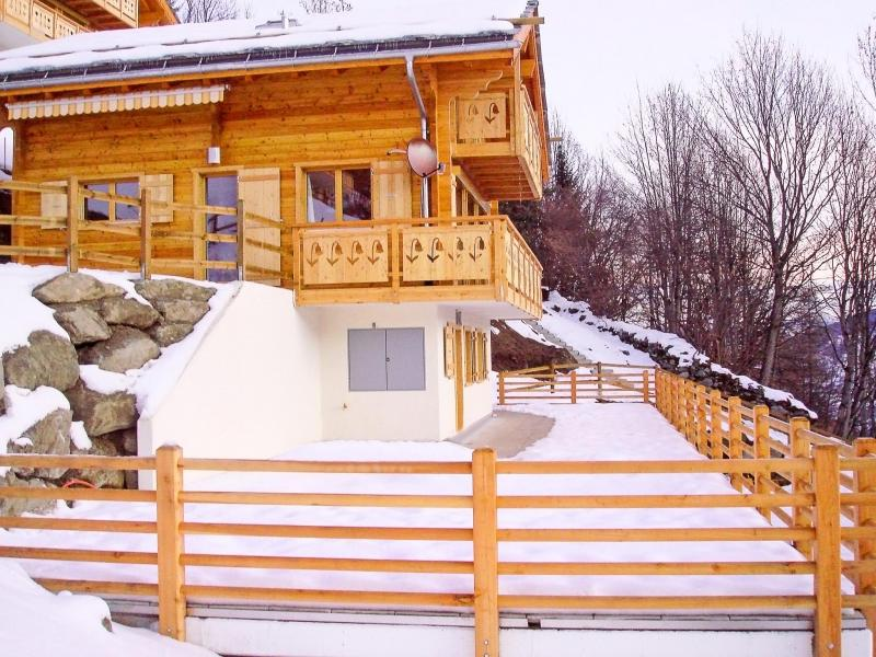 Holiday in mountain resort Chalet Panorama - Thyon - Winter outside