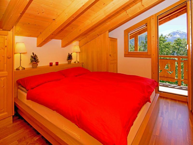 Location au ski Chalet Panorama - Thyon - Chambre mansardée