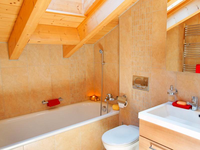 Location au ski Chalet Panorama - Thyon - Salle de bains