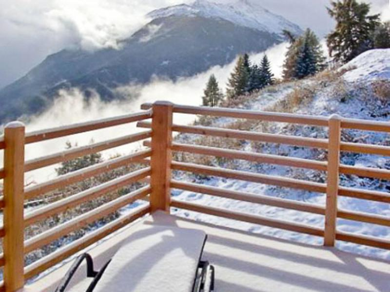 Holiday in mountain resort Chalet Sur Piste - Thyon - Winter outside
