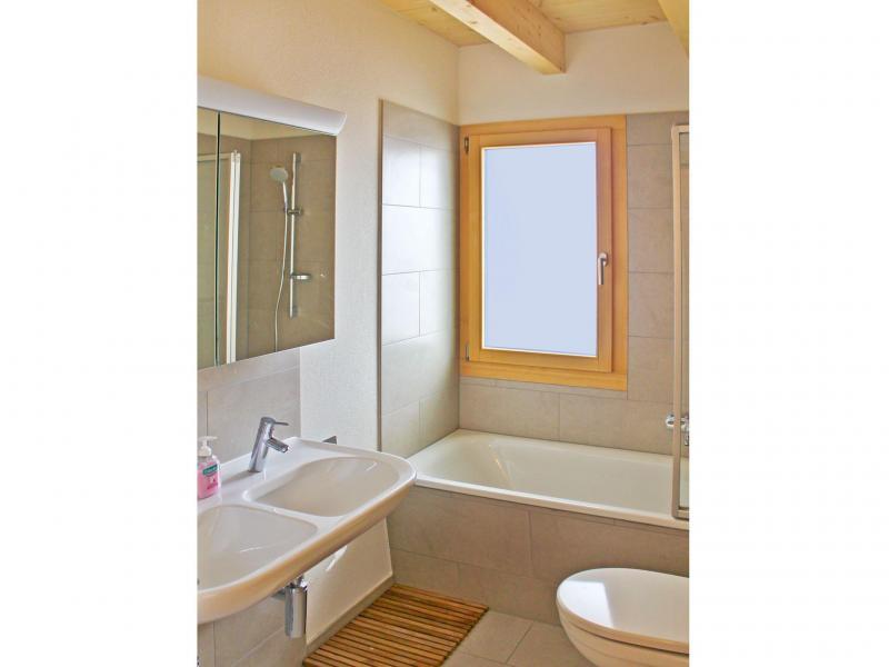Location au ski Chalet Sur Piste - Thyon - Salle de bains
